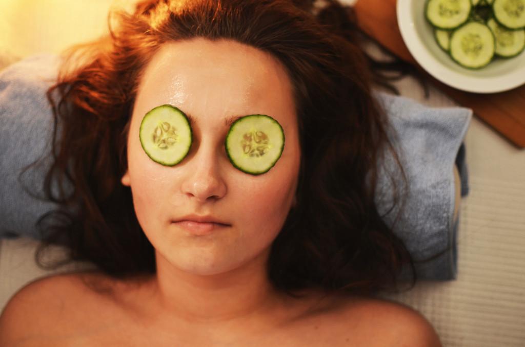 Gesichtsmaske bei Soft Skin Darmstadt